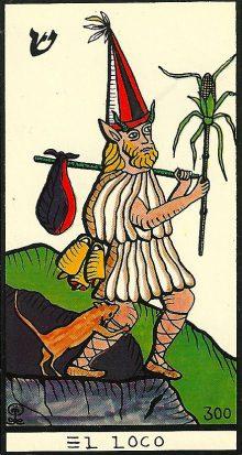 El Loco - El Gran Tarot Esotérico