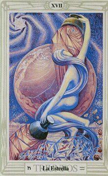La Estrella - Tarot Thoth