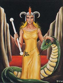 Hel - Barbara Walker Tarot