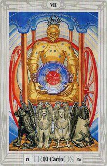 El Carro - Tarot Thoth