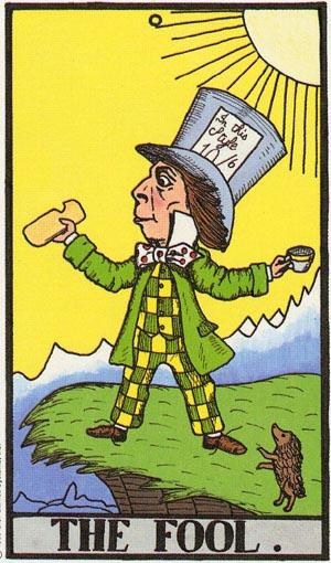 The Wonderland Tarot (Abbey)