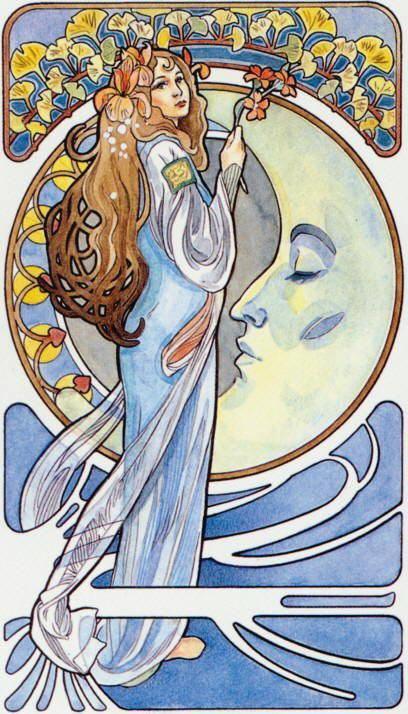 Tarot Art Nouveau (Castelli)