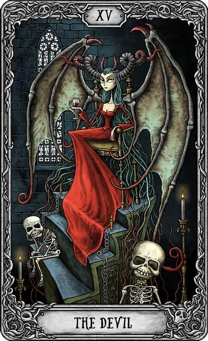 The Dark Mansion Tarot – Reseña