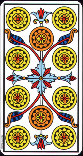 Numerología avanzada del Tarot de Marsella (y 2)