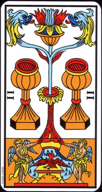 Numerología básica del Tarot de Marsella