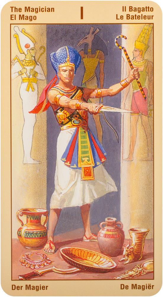 Ramsés. Tarot de la eternidad
