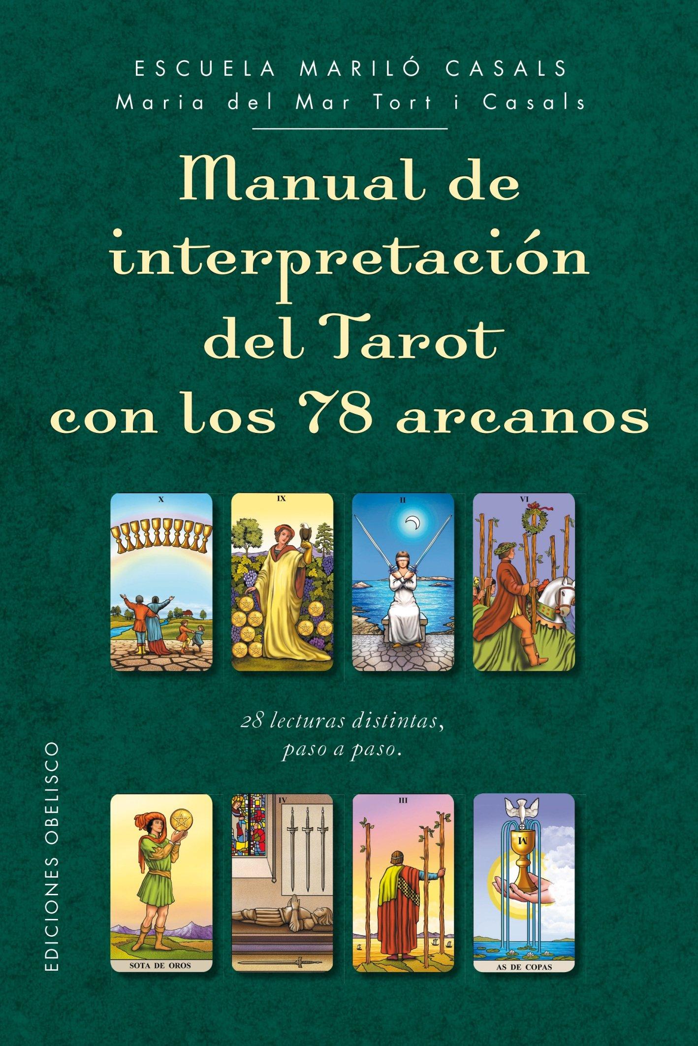 Reseña de los Manuales de interpretación del Tarot de María del Mar Tort