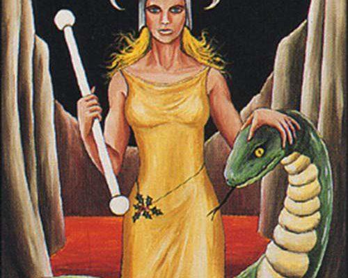 Hel - Barbara Walker Tarot